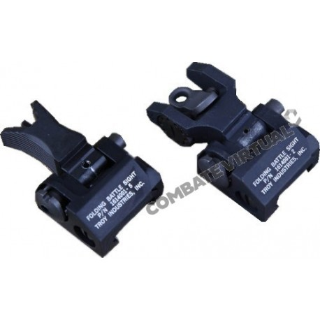 BIGDRAGON TROY FRONT & REAR FOLDING BATTLESIGHT