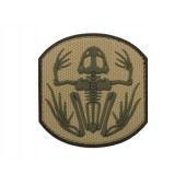 EMERSON FROG SKELETON PVC PATCH - BROWN/TAN