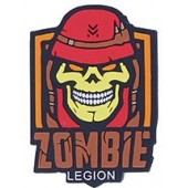 """EMERSON """"ZOMBIE SOLDIER"""" PATCH - RED"""