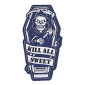 "EMERSON ""KILL ALL SWEET"" PATCH - BLUE"