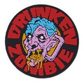 "EMERSON ""DRUNKEN ZOMBIE"" PATCH - RED"
