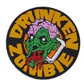"EMERSON ""DRUNKEN ZOMBIE"" PATCH - YELLOW"