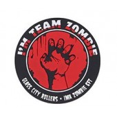 "EMERSON ""ZOMBIE TEAM"" PATCH - RED"