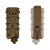 DRAGONPRO DP-PP003-003 9MM POLYMER MAG POUCH (MOLLE) TAN