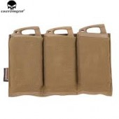 EMERSON TRIPLE M4 POUCH - COYOTE BROWN