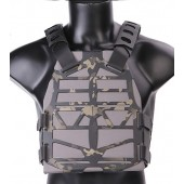 EMERSON FRAME PLATE CARRIER - MULTICAM BLACK