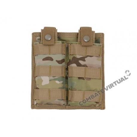 8FIELDS EASY ACCESS DOUBLE AR-15/M4 MAGAZINE POUCH - MULTICAM