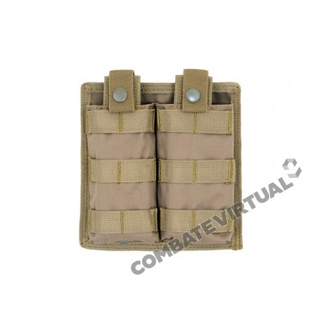 8FIELDS EASY ACCESS DOUBLE AR-15/M4 MAGAZINE POUCH - COYOTE