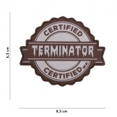 ACM PATCH 3D PVC TERMINATOR - GREY