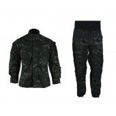 UNIFORME COMPLETO MULTICAM BLACK