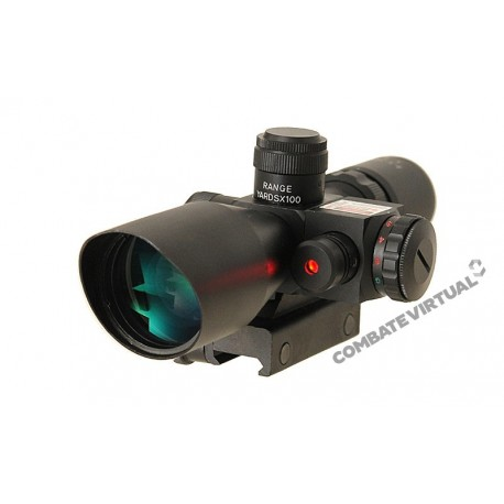ACM SCOPE 2.5-10X40 WITH LASER