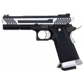 AW CUSTOM HX11 SERIES FULL METAL GAS BLOWBACK PISTOL - TWO TONE
