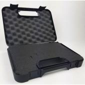 MEGALINE BLACK PISTOL CASE - 30.2 X 22.8 X 6 CM