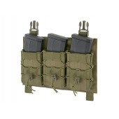 8FIELDS BUCKLE UP SPEED TRIPLE RIFLE MAG POUCH OLIVE
