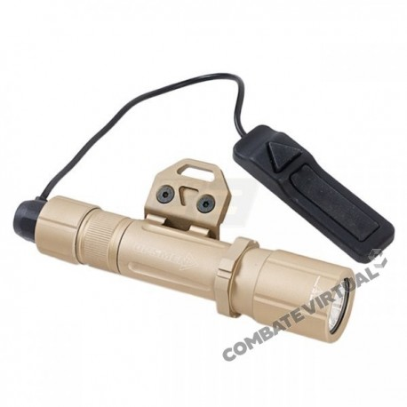 OPSMEN FAST 501K WEAPON LIGHT FOR KEYMOD SYSTEM (1000 LUMENS) - TAN