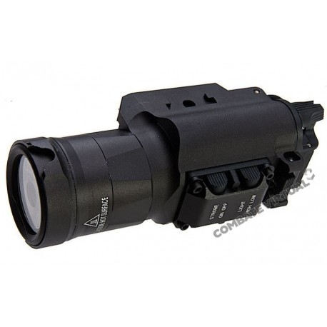 BLACKCAT AIRSOFT HX35 TACTICAL FLASHLIGHT - BLACK