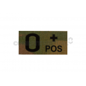 CLAW GEAR O POS IR PATCH - MULTICAM