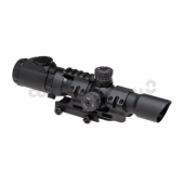 TRINITY FORCE ASSAULT OPTIC 1-4X28 DELTEX - BLACK