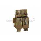 WARRIOR DIRECT ACTION DOUBLE PISTOL MAG POUCH 9MM - MULTICAM