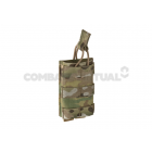 WARRIOR SINGLE OPEN MAG POUCH M4 5.56MM - MULTICAM