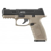 ICS PISTOLA XFG GBB BLACK/TAN