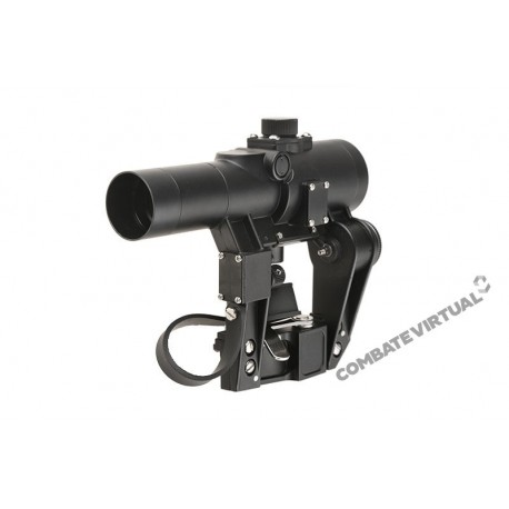 THETA OPTICS PKAK RED DOT - BLACK