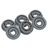 FPS OPEN STEEL BEARINGS 8MM