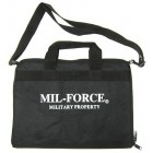 MIL-FORCE DELUXE RANGE BAG RH-18 - BLACK