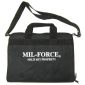 MIL-FORCE DELUXE RANGE BAG RH-18 - BLACK