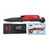 RUI TACTICAL LANTERNA FIRESTARTER RED 19451