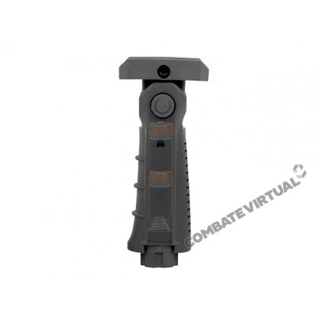 ACM FOLDABLE GRIP W/ REMOTE SWITCH ASSEMBLY - BLACK