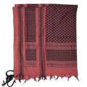 MILTEC SHEMAGH SCARF - RED/BLACK