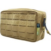 PITCHFORK HORIZONTAL UTILITY POUCH MEDIUM - COYOTE