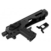 CAA MICRO RONI G5 PISTOL - CARBINE CONVERSION FOR GLOCK SERIES - BLACK