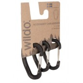 WILDO ACCESSORY CARABINER SET - BLACK