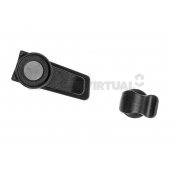 SOURCE MAGNETIC TUBE CLIP - BLACK