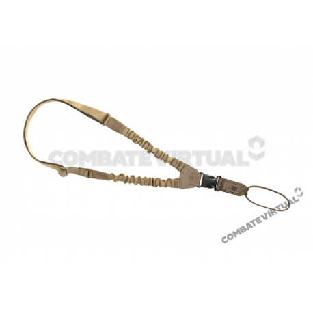 CLAWGEAR ONE POINT ELASTIC SUPPORT SLING PARACORD - COYOTE