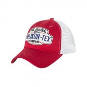 HELIKON-TEX TRUCKER LOGO CAP - RED/WHITE