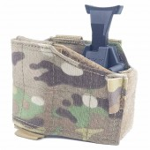 WARRIOR LEFT-HANDED UNIVERSAL PISTOL HOLSTER - MULTICAM