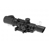 TRINITY FORCE ASSAULT OPTIC 1-4X28 SMALL CROSS - BLACK