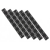 MP BCM M-LOK RAIL PANEL KIT (5 PCs) - BLACK