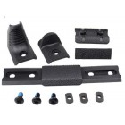 MP HAND STOP KIT FOR KEYMOD & M-LOK - BLACK