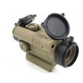 AIM-O AIMPOINT M4 RED/GREEN DOT W/ LASER - DARK EARTH