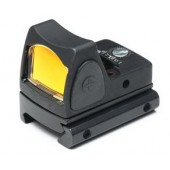 AIM-O ADJUSTABLE LED RMR RED DOT - BLACK