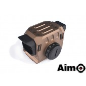AIM-O EG1 OPTICAL RED DOT SIGHT - DARK EARTH