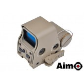 AIM-O XPS 2-Z RED/GREEN DOT MOUNT & QD MOUNT - DARK EARTH
