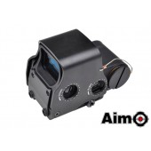 AIM-O EXPS 3-2 RED/GREEN DOT & QD MOUNT - BLACK