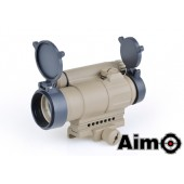 AIM-O AIMPOINT M4 RED/GREEN DOT - DARK EARTH