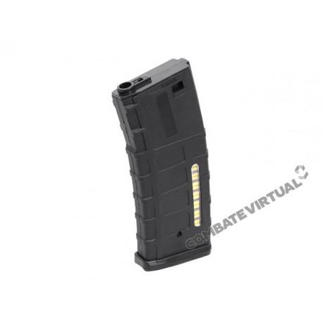 BATTLEAXE 130RD POLYMER MID-CAP MAGAZINE FOR M4 SERIES - BLACK