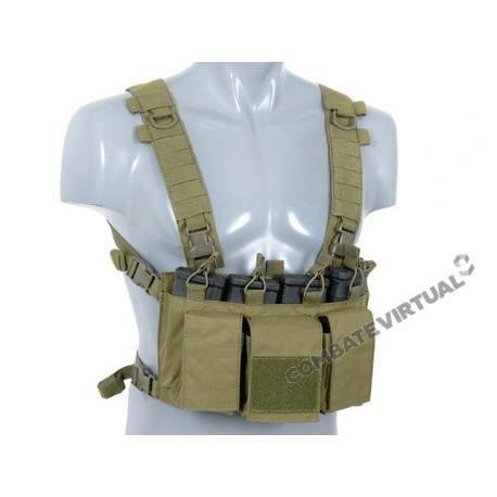 8FIELDS BUCKLE UP CHEST RIG -OD